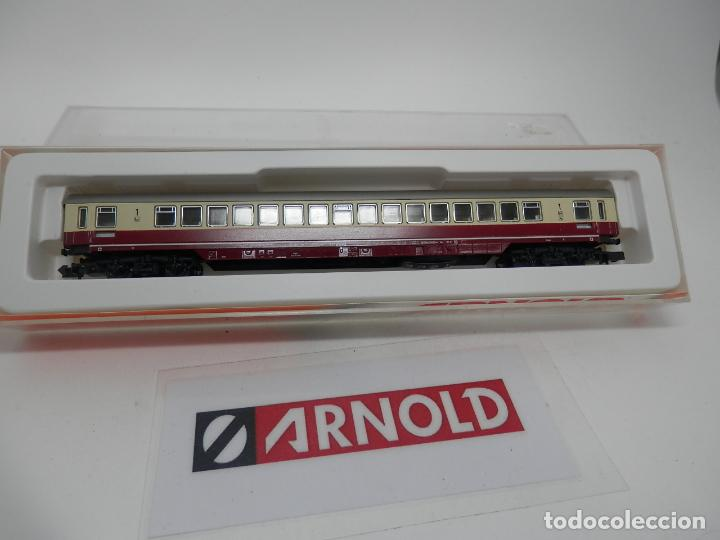 VAGÓN PASAJEROS DE LA DB ESCALA N DE ARNOLD (Juguetes - Trenes a Escala N - Arnold N )