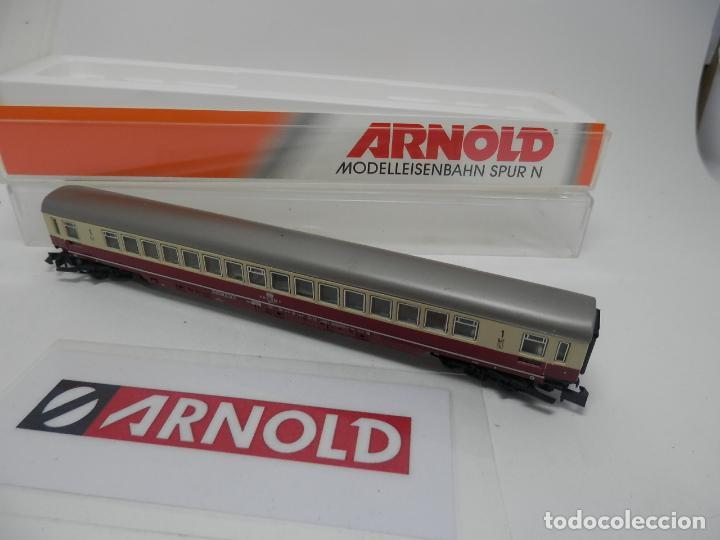 Trenes Escala: VAGÓN PASAJEROS DE LA DB ESCALA N DE ARNOLD - Foto 6 - 159933882