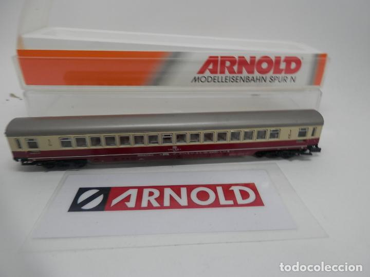 Trenes Escala: VAGÓN PASAJEROS DE LA DB ESCALA N DE ARNOLD - Foto 7 - 159933882