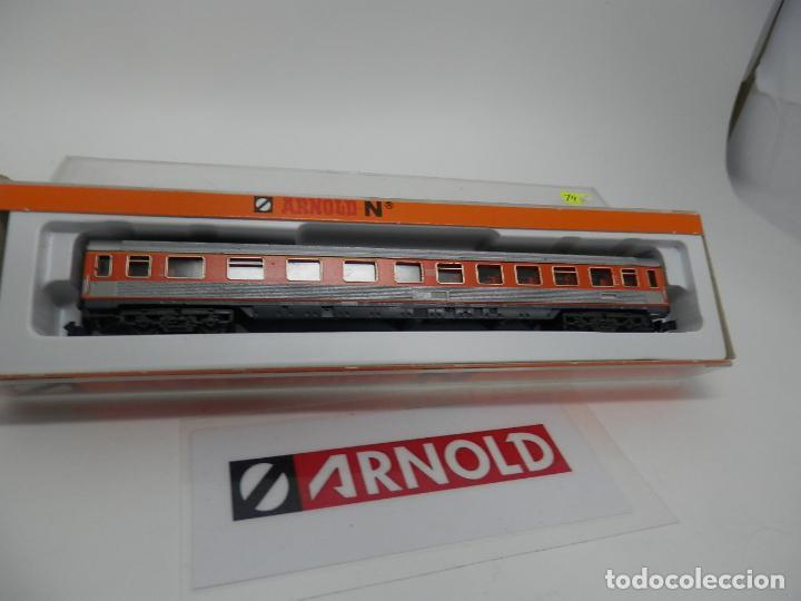 Trenes Escala: VAGÓN PASAJEROS DE LA DB ESCALA N DE ARNOLD - Foto 6 - 159933966