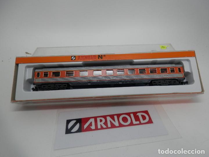 Trenes Escala: VAGÓN PASAJEROS DE LA DB ESCALA N DE ARNOLD - Foto 9 - 159933966