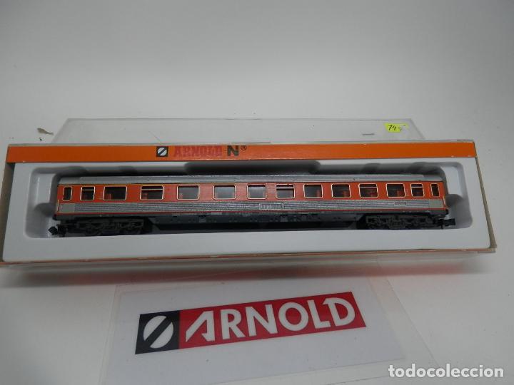 Trenes Escala: VAGÓN PASAJEROS DE LA DB ESCALA N DE ARNOLD - Foto 10 - 159933966