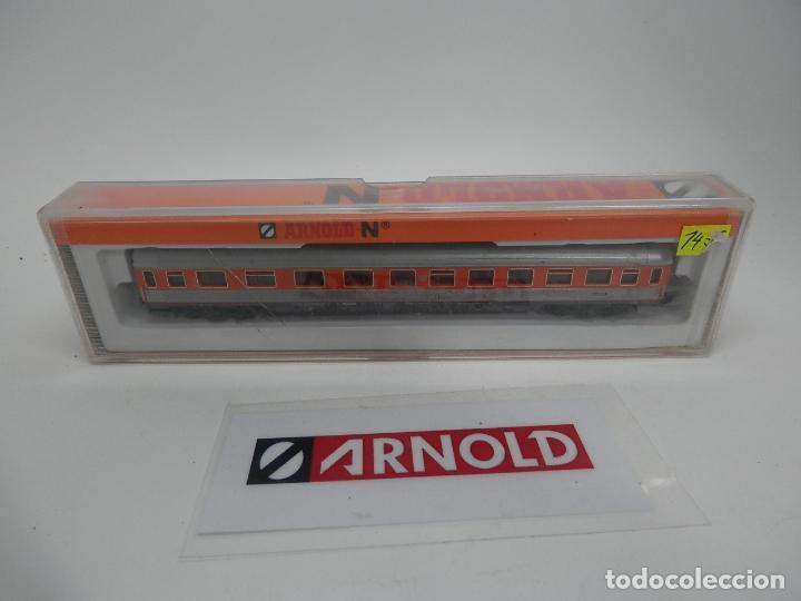 Trenes Escala: VAGÓN PASAJEROS DE LA DB ESCALA N DE ARNOLD - Foto 11 - 159933966