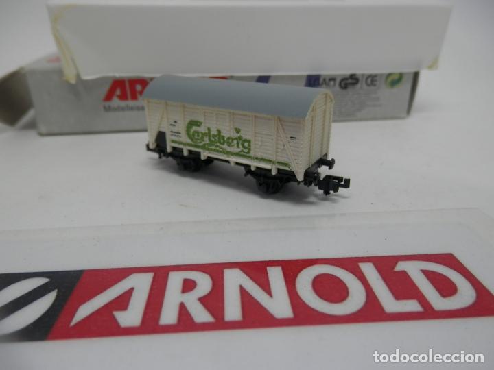 Trenes Escala: VAGÓN CERRADO ESCALA N DE ARNOLD - Foto 2 - 159934362