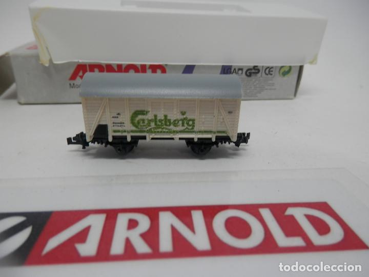 Trenes Escala: VAGÓN CERRADO ESCALA N DE ARNOLD - Foto 3 - 159934362