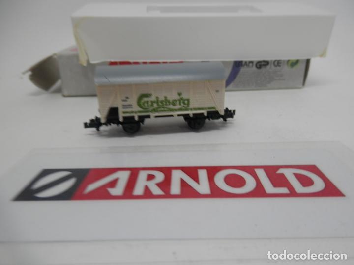 Trenes Escala: VAGÓN CERRADO ESCALA N DE ARNOLD - Foto 4 - 159934362