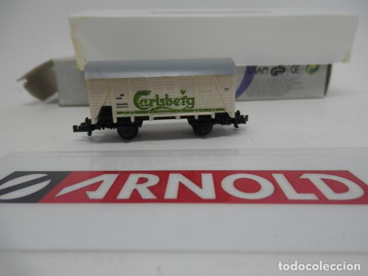 Trenes Escala: VAGÓN CERRADO ESCALA N DE ARNOLD - Foto 5 - 159934362
