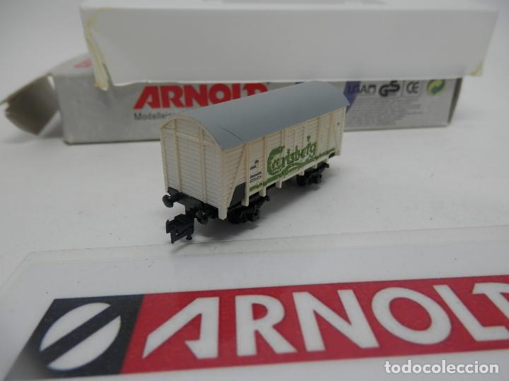 Trenes Escala: VAGÓN CERRADO ESCALA N DE ARNOLD - Foto 6 - 159934362