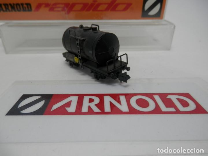 Trenes Escala: VAGÓN CISTERNA ESCALA N DE ARNOLD - Foto 2 - 159934902