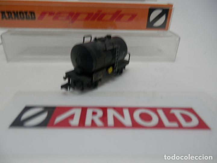 Trenes Escala: VAGÓN CISTERNA ESCALA N DE ARNOLD - Foto 3 - 159934902