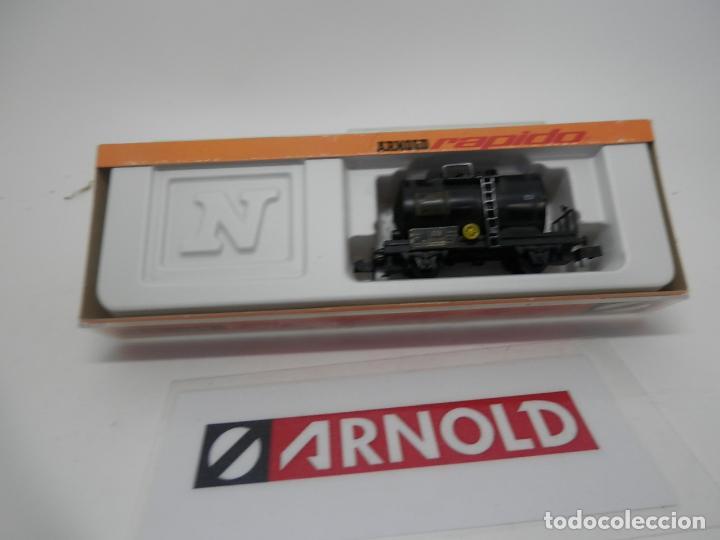 Trenes Escala: VAGÓN CISTERNA ESCALA N DE ARNOLD - Foto 6 - 159934902