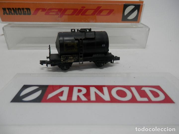 Trenes Escala: VAGÓN CISTERNA ESCALA N DE ARNOLD - Foto 7 - 159934902