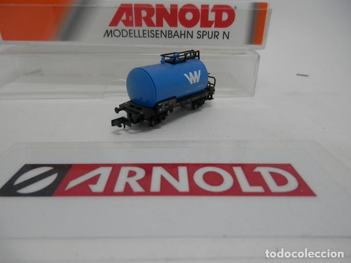 Trenes Escala: VAGÓN CISTERNA ESCALA N DE ARNOLD - Foto 8 - 159934974