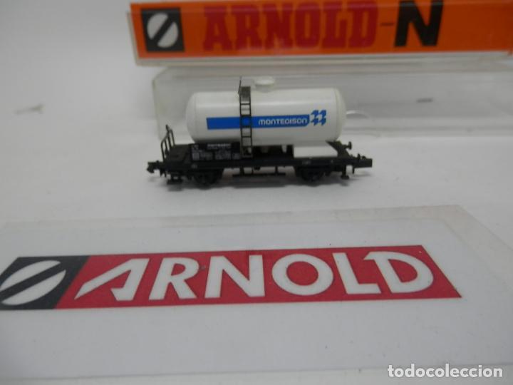 Trenes Escala: VAGÓN CISTERNA ESCALA N DE ARNOLD - Foto 3 - 159935014