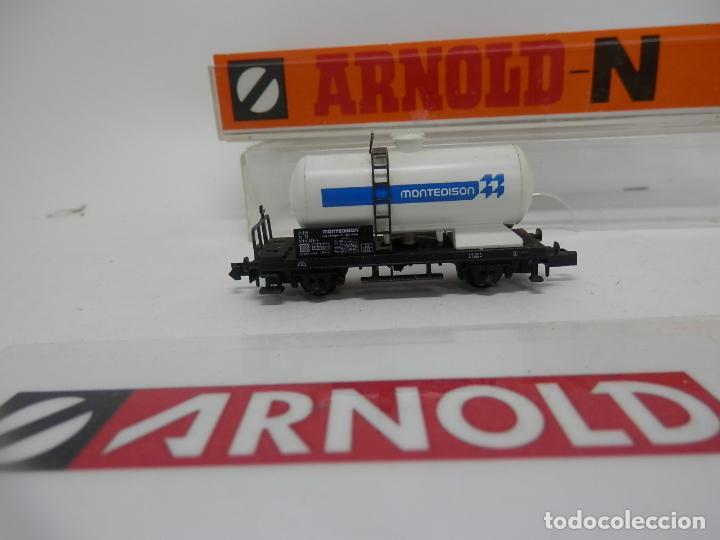 Trenes Escala: VAGÓN CISTERNA ESCALA N DE ARNOLD - Foto 4 - 159935014