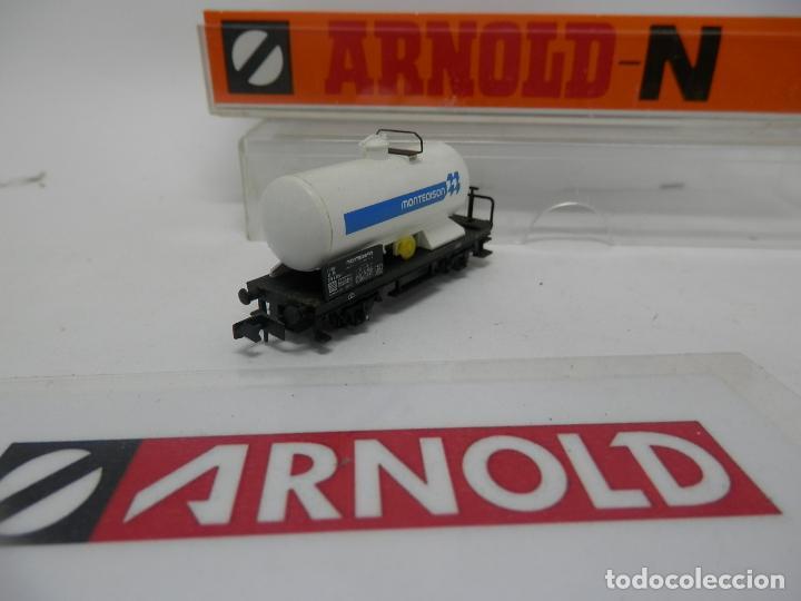 Trenes Escala: VAGÓN CISTERNA ESCALA N DE ARNOLD - Foto 6 - 159935014