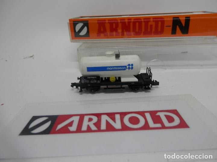 Trenes Escala: VAGÓN CISTERNA ESCALA N DE ARNOLD - Foto 10 - 159935014