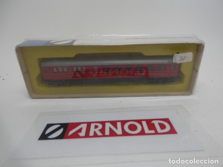 VAGÓN RESTAURANTE ESCALA N DE ARNOLD (Juguetes - Trenes a Escala N - Arnold N )
