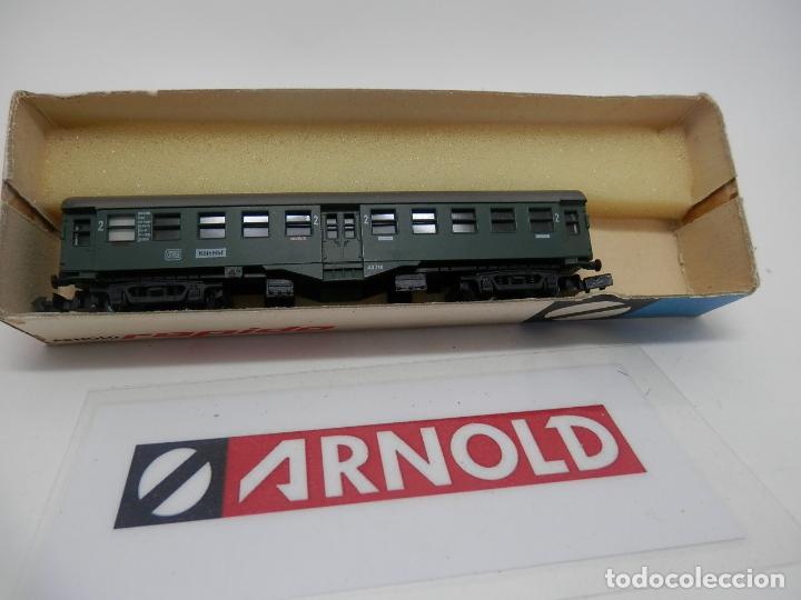 Trenes Escala: VAGÓN PASAJEROS DE LA DB ESCALA N DE ARNOLD - Foto 3 - 159935426