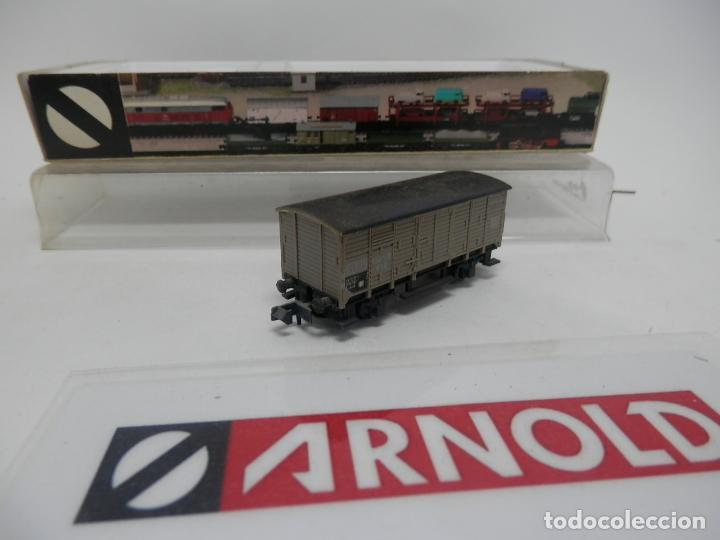 Trenes Escala: VAGÓN CERRADO ESCALA N DE ARNOLD - Foto 2 - 159935794
