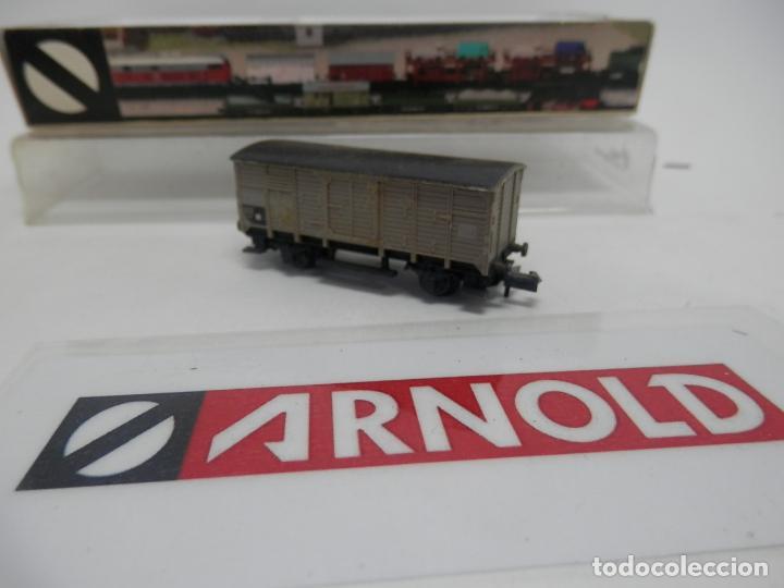 Trenes Escala: VAGÓN CERRADO ESCALA N DE ARNOLD - Foto 3 - 159935794