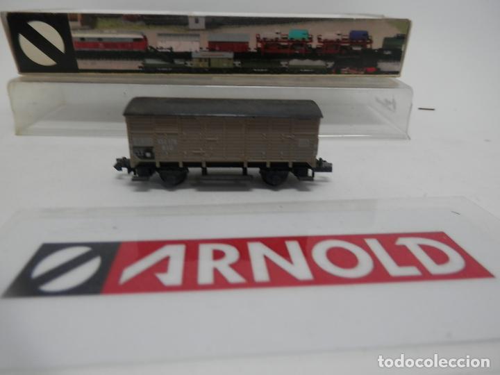 Trenes Escala: VAGÓN CERRADO ESCALA N DE ARNOLD - Foto 4 - 159935794