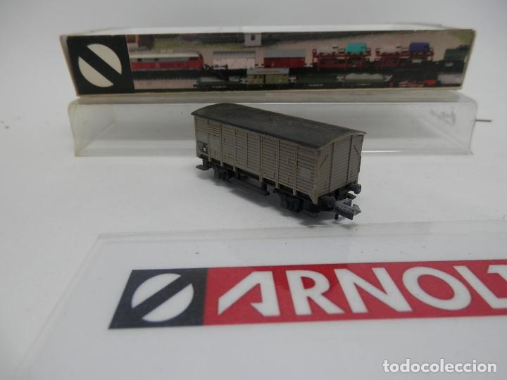 Trenes Escala: VAGÓN CERRADO ESCALA N DE ARNOLD - Foto 5 - 159935794