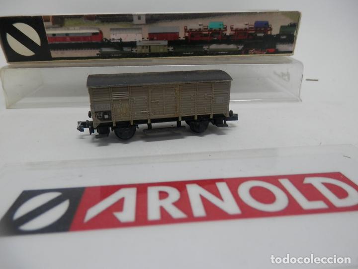 Trenes Escala: VAGÓN CERRADO ESCALA N DE ARNOLD - Foto 7 - 159935794