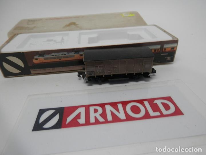 Trenes Escala: VAGÓN CERRADO ESCALA N DE ARNOLD - Foto 3 - 159935850