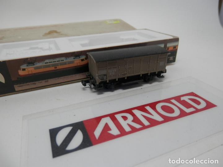 Trenes Escala: VAGÓN CERRADO ESCALA N DE ARNOLD - Foto 5 - 159935850