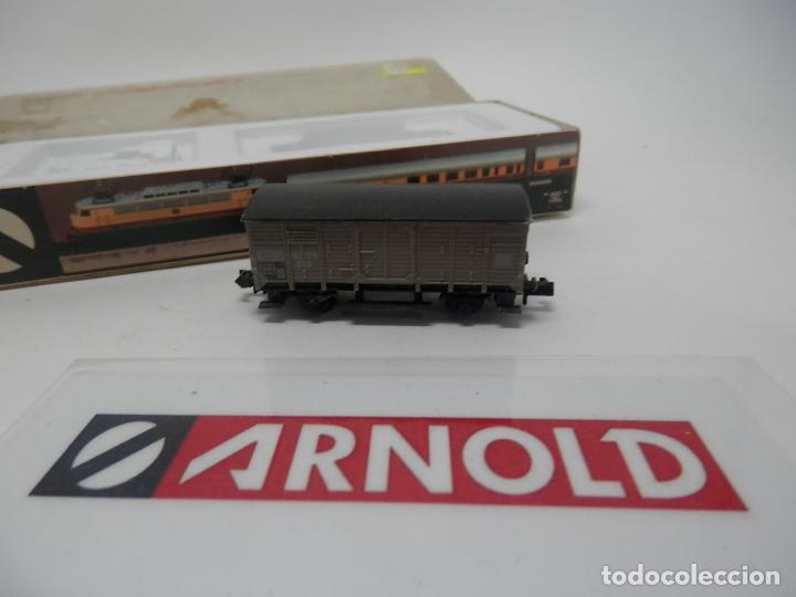 Trenes Escala: VAGÓN CERRADO ESCALA N DE ARNOLD - Foto 7 - 159935850