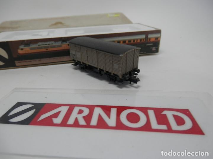 Trenes Escala: VAGÓN CERRADO ESCALA N DE ARNOLD - Foto 8 - 159935850