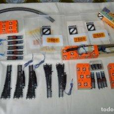 Trenes Escala - ARNOLD RÁPIDO - Lote de cambios, cruces, muchos y variados accesorios, escala N - Buen estado ¡Mira! - 164723286