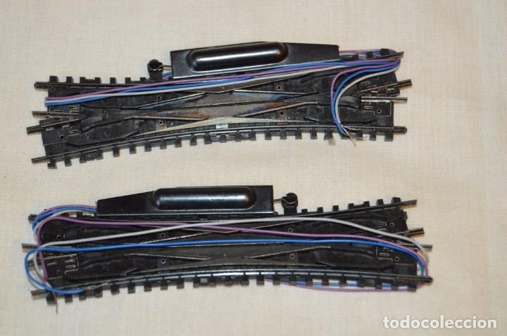 Trenes Escala: ARNOLD RÁPIDO - Lote de cambios, cruces, muchos y variados accesorios, escala N - Buen estado ¡Mira! - Foto 9 - 166943342