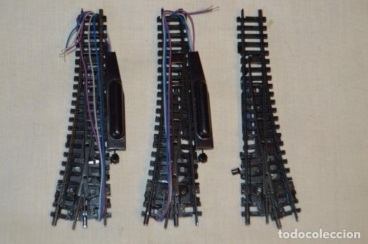 Trenes Escala: ARNOLD RÁPIDO - Lote de cambios, cruces, muchos y variados accesorios, escala N - Buen estado ¡Mira! - Foto 10 - 166943342