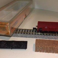 Trenes Escala: ARNOLD N BORDE BAJO CARGA DE CARBÓN Ó MADEROS 4471 (CON COMPRA DE 5 LOTES O MAS, ENVÍO GRATIS). Lote 168204024
