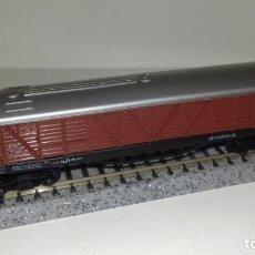 Trenes Escala: ARNOLD N MERCANCIAS CERRADO 4 EJES (CON COMPRA DE 5 LOTES O MAS, ENVÍO GRATIS). Lote 173656763