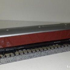 Trenes Escala: ARNOLD N MERCANCIAS CERRADO 4 EJES (CON COMPRA DE 5 LOTES O MAS, ENVÍO GRATIS). Lote 173656795