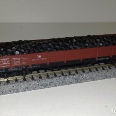Trenes Escala: ARNOLD N MERCANCIAS CARGA CARBÓN 4 EJES (CON COMPRA DE 5 LOTES O MAS, ENVÍO GRATIS). Lote 173656842