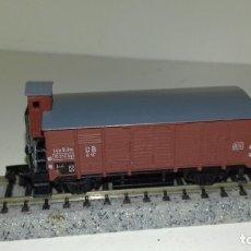 Trenes Escala: ARNOLD N CERRADO 2 EJES CON GARITA (CON COMPRA DE 5 LOTES O MAS, ENVÍO GRATIS). Lote 173929195
