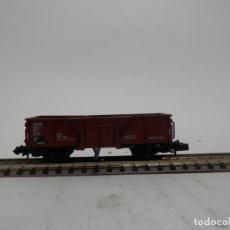 Trenes Escala: VAGÓN BORDE ALTO BASCULANTE ESCALA N DE ARNOLD . Lote 175957429