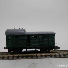 Trenes Escala: VAGÓN FURGON ESCALA N DE ARNOLD . Lote 175957629