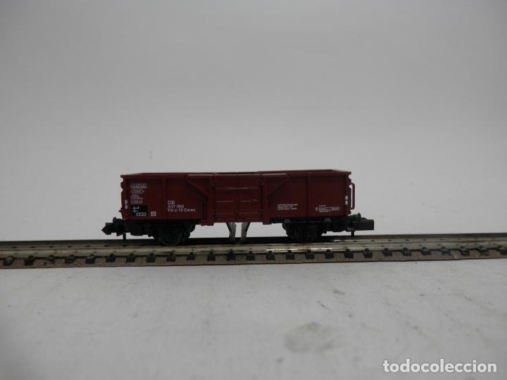 VAGÓN BORDE ALTO BASCULANTE ESCALA N DE ARNOLD (Juguetes - Trenes a Escala N - Arnold N )