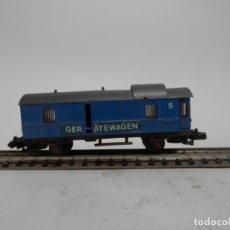 Trenes Escala: VAGÓN FURGON ESCALA N DE ARNOLD . Lote 176203367