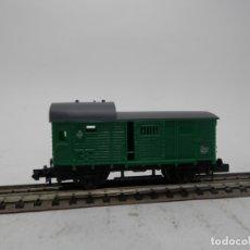 Trenes Escala: VAGÓN FURGON ESCALA N DE ARNOLD . Lote 176203735