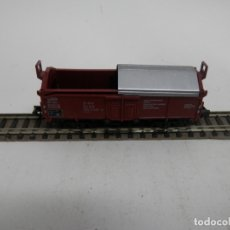 Trenes Escala: VAGÓN BORDE ALTO ESCALA N DE ARNOLD . Lote 176257974