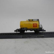 Trenes Escala: VAGÓN CISTERNA ESCALA N DE ARNOLD . Lote 176997134