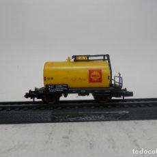 Trenes Escala: VAGÓN CISTERNA ESCALA N DE ARNOLD . Lote 176997185