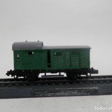 Trenes Escala: VAGÓN FURGON ESCALA N DE ARNOLD . Lote 177014953