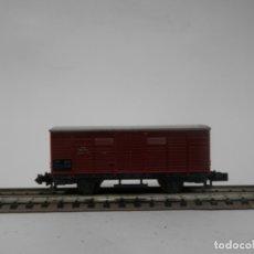 Trenes Escala: VAGÓN CERRADO ESCALA N DE ARNOLD . Lote 177568230